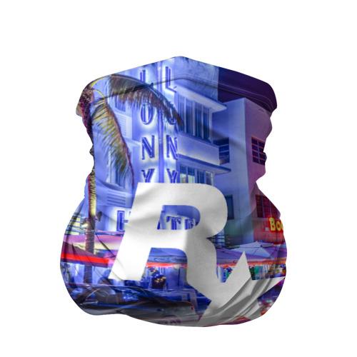Бандана-труба 3D  Фото 01, Карина в стиле GTA