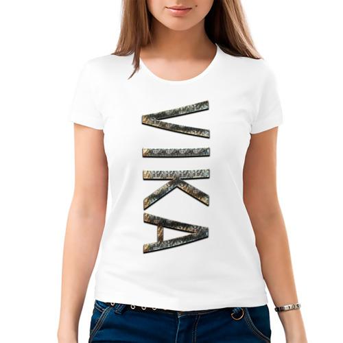 Женская футболка хлопок  Фото 03, Vika-GOLD