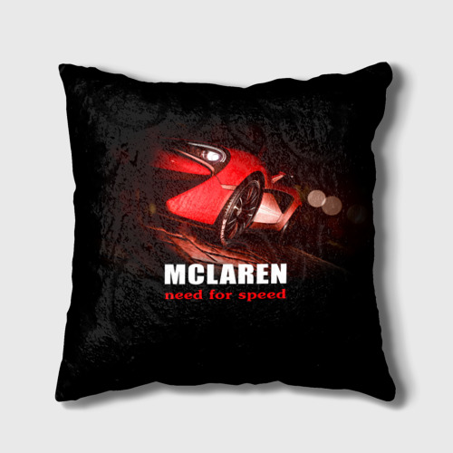 Подушка 3D  Фото 01, McLaren - жажда скорости