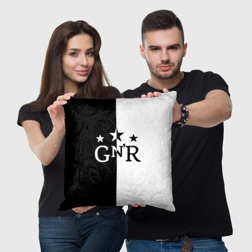 Подушка 3D  Фото 05, Guns-n-roses