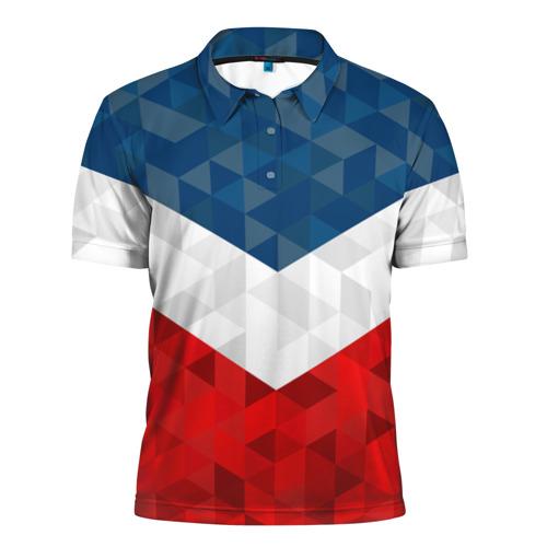 Мужская рубашка поло 3D  Фото 01, Форма России