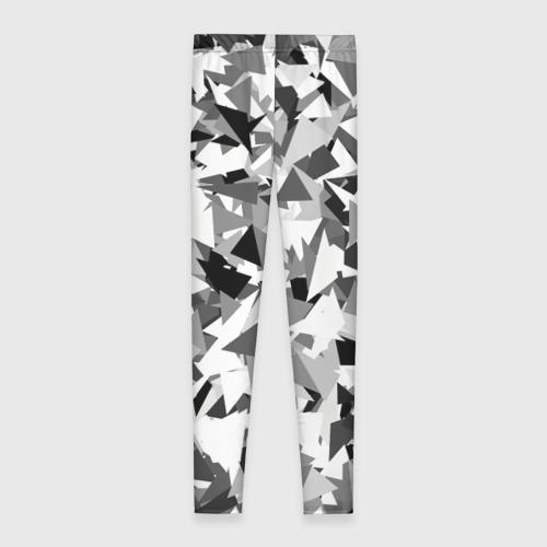 Леггинсы 3D Городской серый камуфляж Фото 01