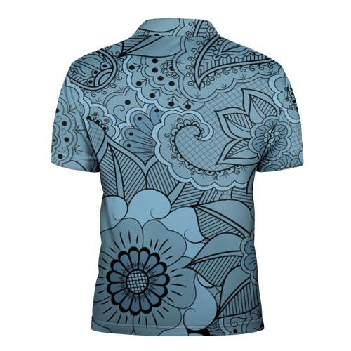 Мужская рубашка поло 3D  Фото 02, Paisley