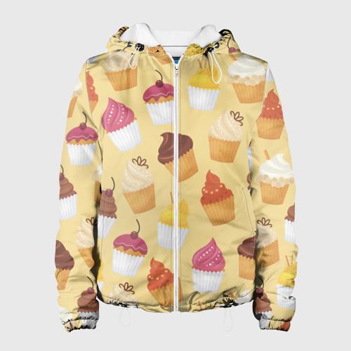 Женская куртка 3D  Фото 01, Сладости