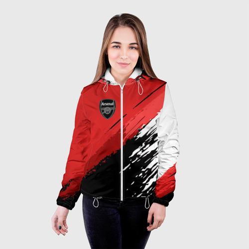 Женская куртка 3D  Фото 03, Arsenal 2018 Original