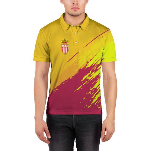 Мужская рубашка поло 3D  Фото 03, Monaco 2018 original