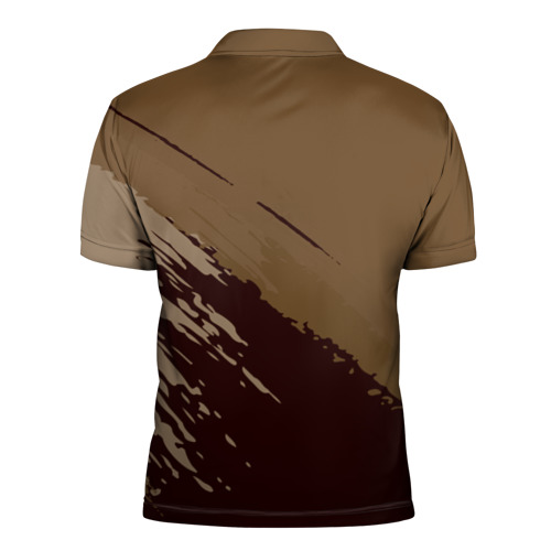 Мужская рубашка поло 3D  Фото 02, FC Inter abstract style