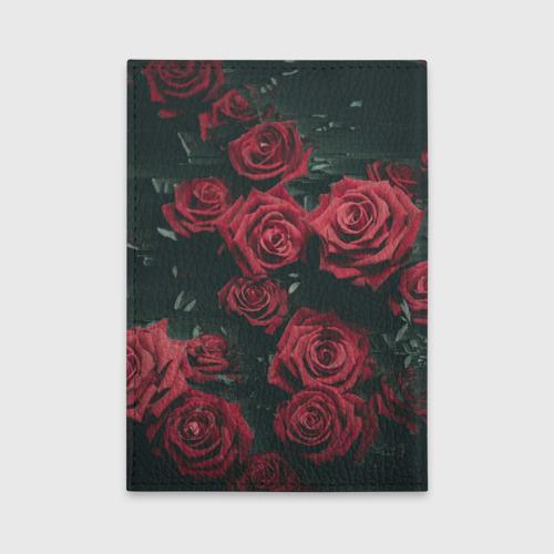Обложка для автодокументов  Фото 02, Цветы Розы