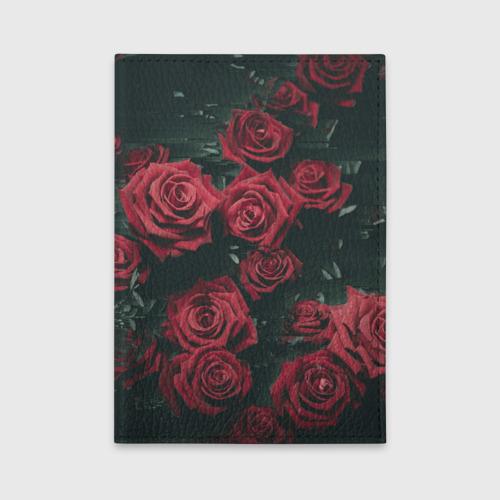 Обложка для автодокументов  Фото 01, Цветы Розы