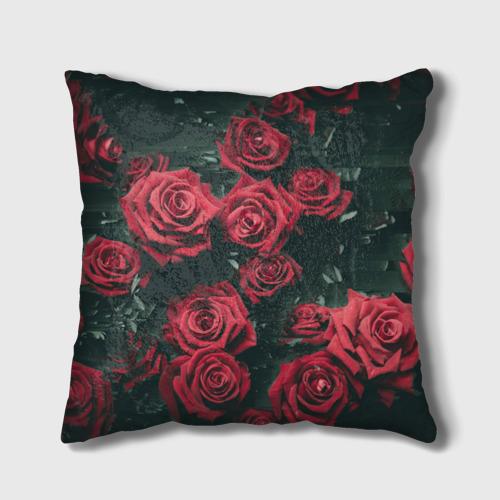 Подушка 3D  Фото 01, Цветы Розы