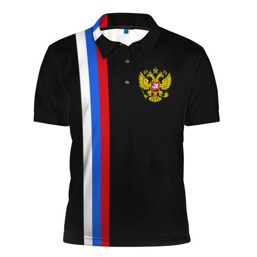 Мужская рубашка поло 3D  Фото 01, России / Line Collection
