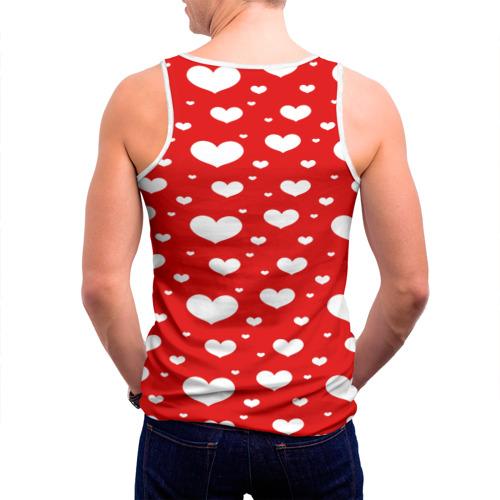 Мужская майка 3D  Фото 04, heart pattern