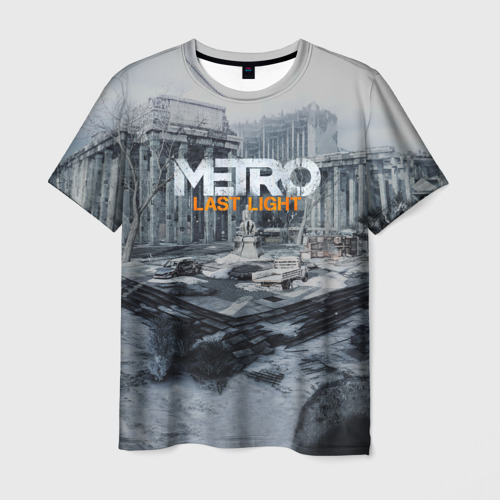 Мужская футболка 3D METRO Last Light Фото 01