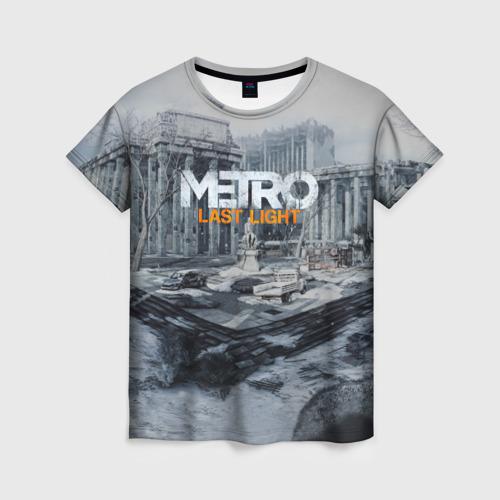 Женская футболка 3D METRO Last Light Фото 01