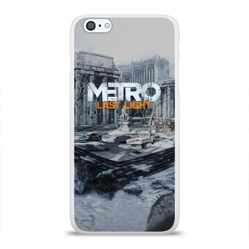 Чехол для Apple iPhone 6Plus/6SPlus силиконовый глянцевый METRO Last Light Фото 01