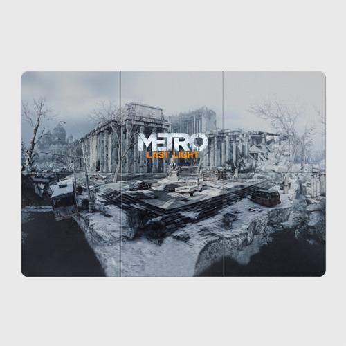 Магнитный плакат 3Х2 METRO Last Light Фото 01