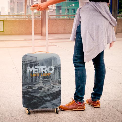 Чехол для чемодана 3D METRO Last Light Фото 01