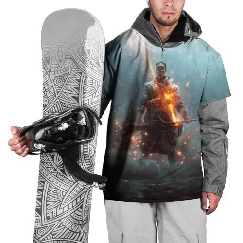 Накидка на куртку 3D  Фото 01, BATTLEFIELD 1