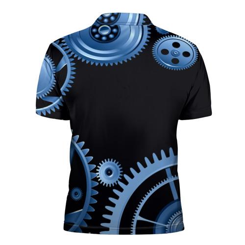Мужская рубашка поло 3D  Фото 02, Старк Рома