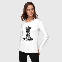 Keep calm and listen Techno