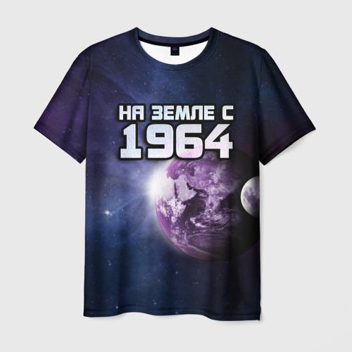 Мужская футболка 3D  Фото 03, На земле с 1964
