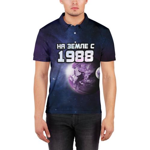 Мужская рубашка поло 3D  Фото 03, На земле с 1988