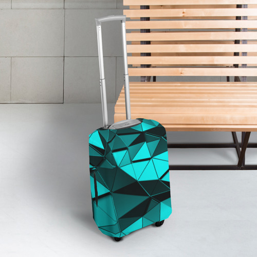 Чехол для чемодана 3D Metalic collection Фото 01