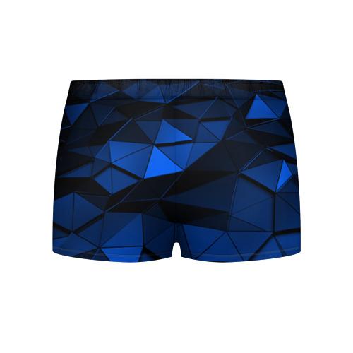 Мужские трусы 3D Blue abstraction collection Фото 01