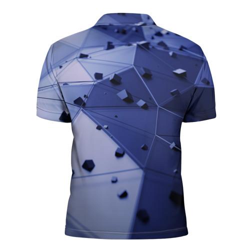 Мужская рубашка поло 3D  Фото 02, Quantum abstract