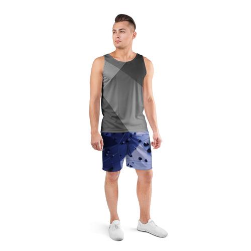 Мужские шорты 3D спортивные  Фото 04, Quantum abstract