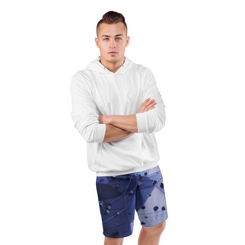 Мужские шорты 3D спортивные  Фото 05, Quantum abstract