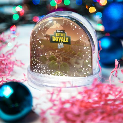 Водяной шар со снегом  Фото 03, Fortnite Battle Royale