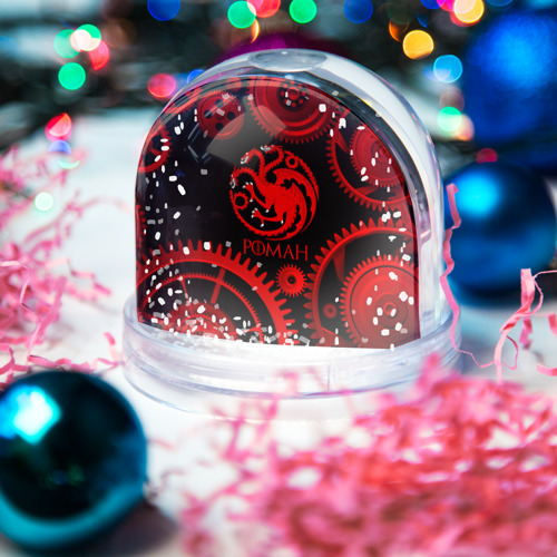 Водяной шар со снегом  Фото 03, Targaryen Роман
