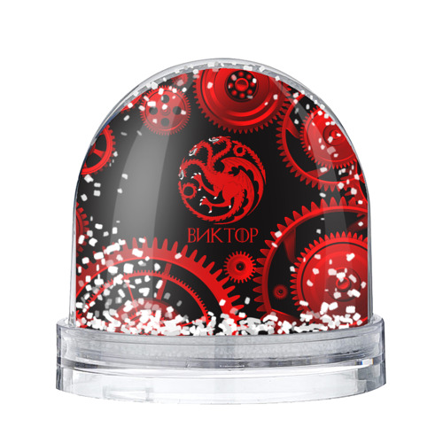 Водяной шар со снегом  Фото 01, Targaryen Виктор