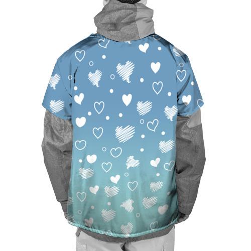 Накидка на куртку 3D  Фото 02, Лисичка и сердечки