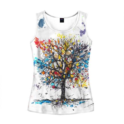 Дерево в красках