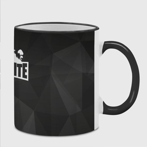 Кружка с полной запечаткой Fortnite Black Abstract Фото 01