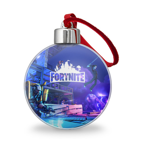 Ёлочный шар Fortnite Фото 01