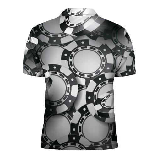 Мужская рубашка поло 3D  Фото 02, Poker