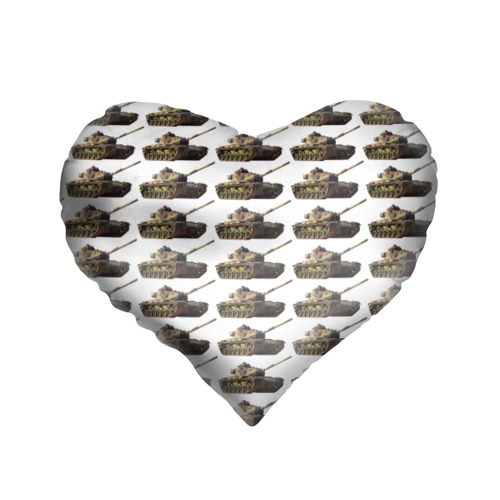 Подушка 3D сердце  Фото 01, Танковые войска