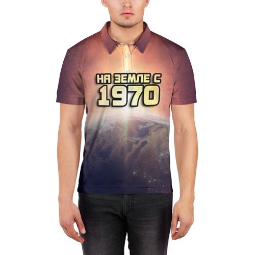 Мужская рубашка поло 3D  Фото 03, На земле с 1970