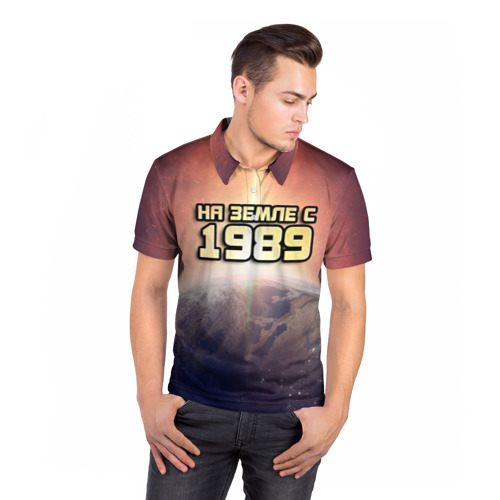 Мужская рубашка поло 3D  Фото 05, На земле с 1989