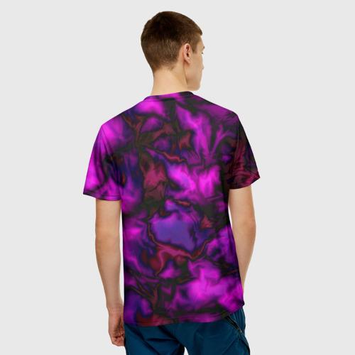 Мужская футболка 3D  Фото 02, Абстракт