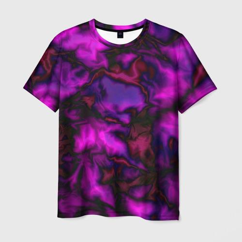 Мужская футболка 3D  Фото 01, Абстракт