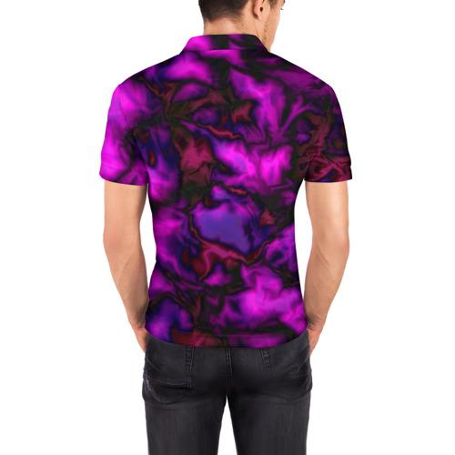 Мужская рубашка поло 3D  Фото 04, Абстракт