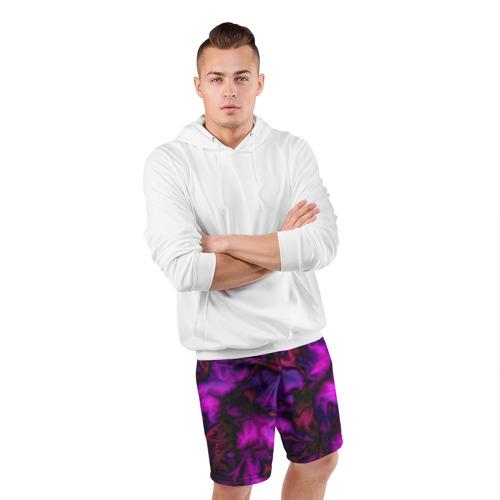 Мужские шорты 3D спортивные  Фото 05, Абстракт