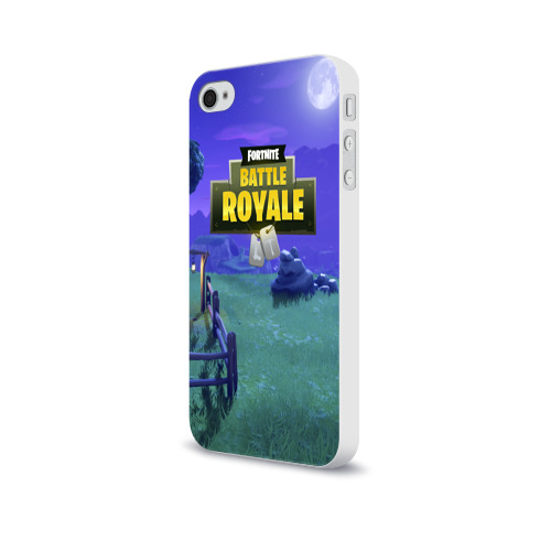 Чехол для Apple iPhone 4/4S soft-touch  Фото 03, Fortnite Night