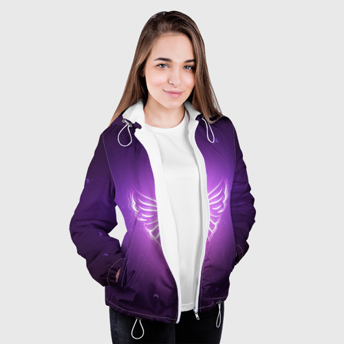 Женская куртка 3D  Фото 04, Бабочка