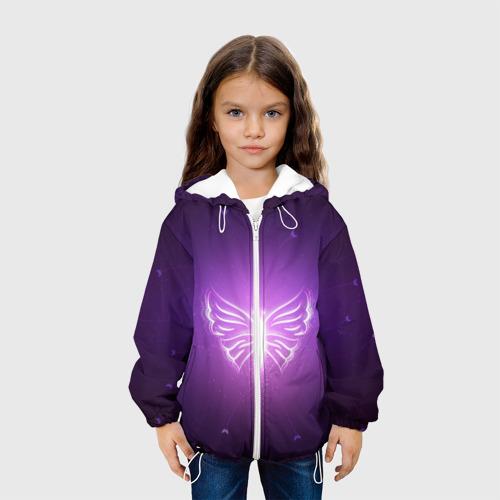 Детская куртка 3D Бабочка Фото 01