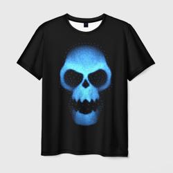 Синий череп